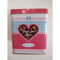 """Boite à thé """" Just For You """" 100g"""