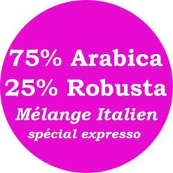 Expresso mélange Italien