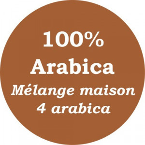 Café mélange maison 4 arabica