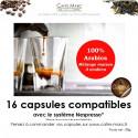 Café maison 3 arabica en capsule