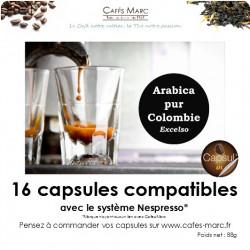Café de Colombie en capsule