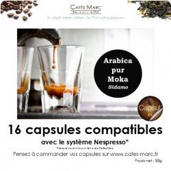 Café Moka sidamo en capsule