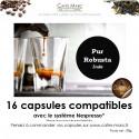 Café robusta en capsule