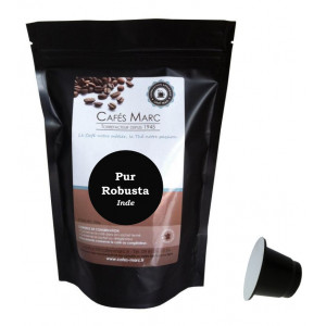 Café robusta Cherry AA en capsules