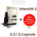Lot de capsules  + café mélange maison 3 arabica