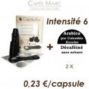 Lot  capsules + café décaféiné