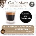 Café Guatemala Huehuetenango SHB en capsule