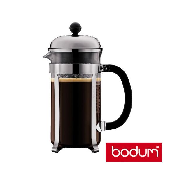 cafeti re piston chambord 8 tasses bodum caf s marc. Black Bedroom Furniture Sets. Home Design Ideas