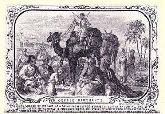 Caravane de marchands de café
