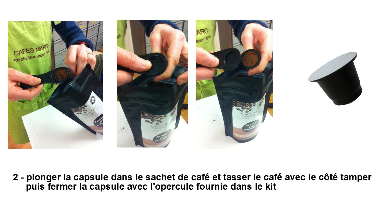 CAPSUL/'IN LOT 200 CAPSULES A REMPLIR POUR CAFETIÈRE MACHINE A CAFÉ NESPRESSO