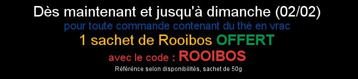 code promo rooibos